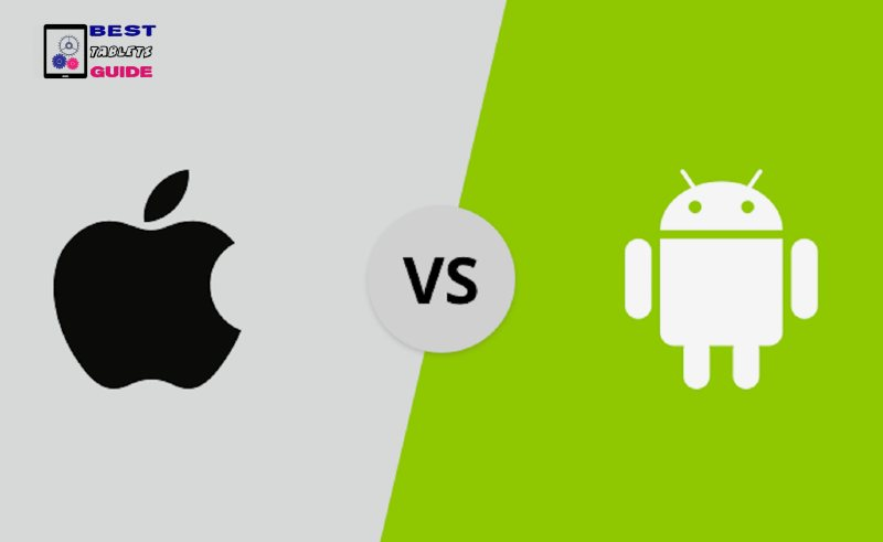 difference between Apple iOS and Android OS